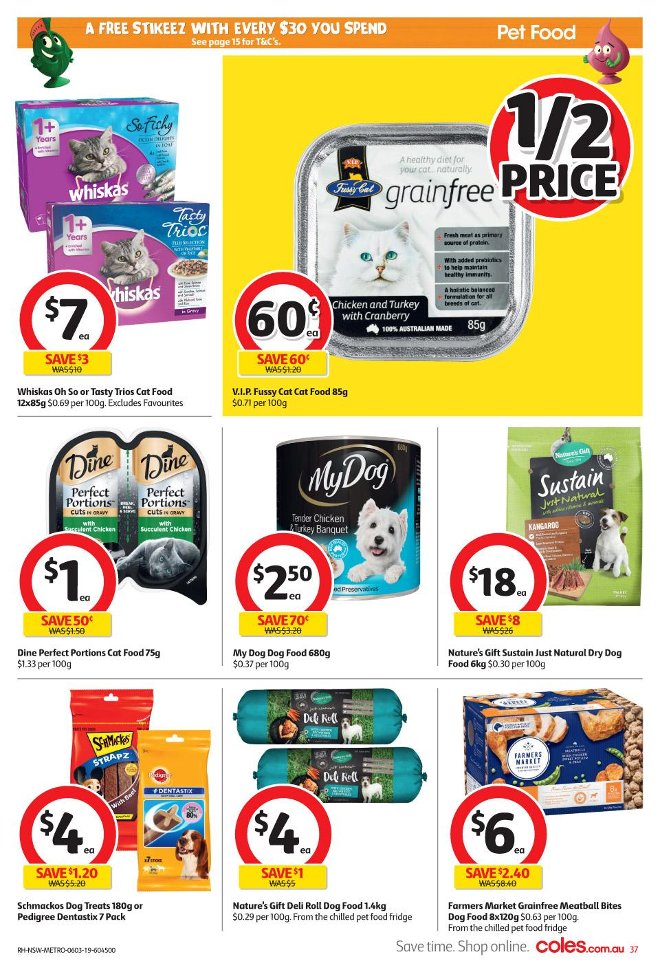 coles catalogue 6 12 mar 2019