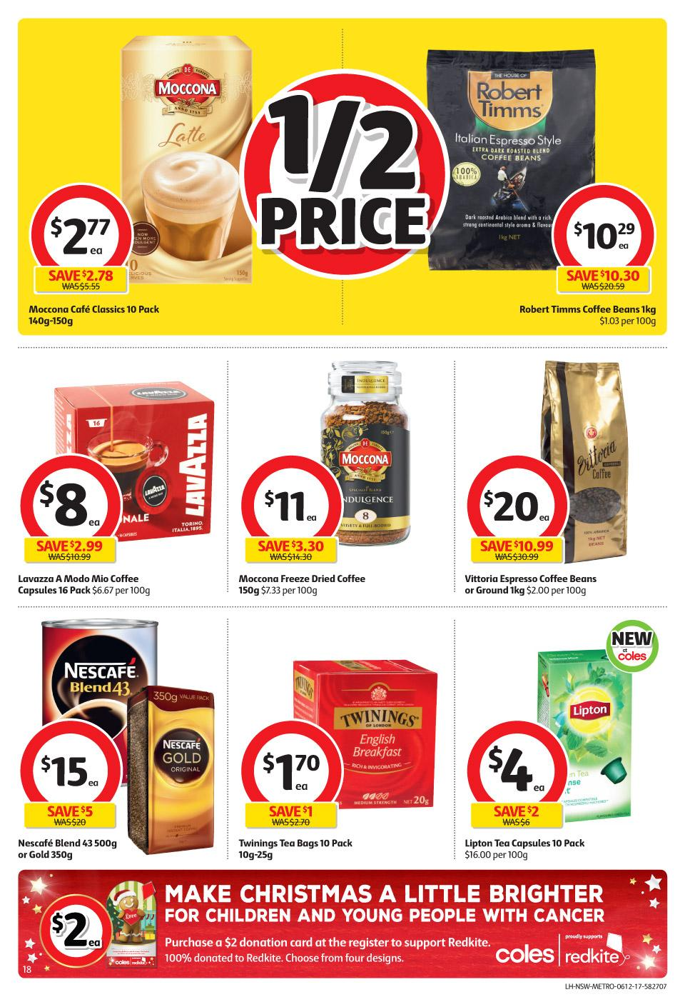coles catalogue 6 december 2017