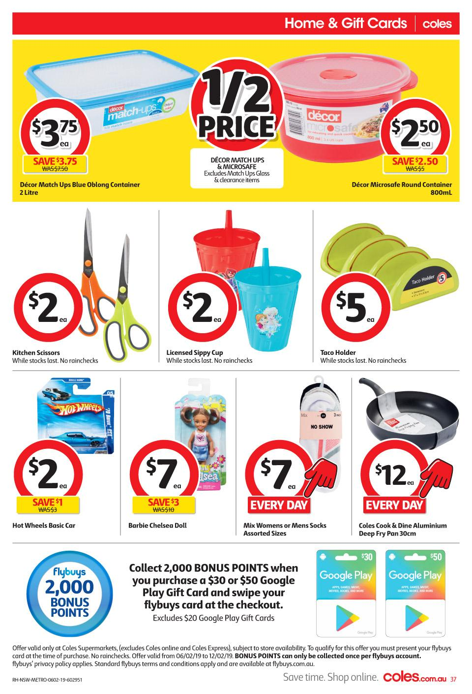 coles catalogue 6 feb 2019