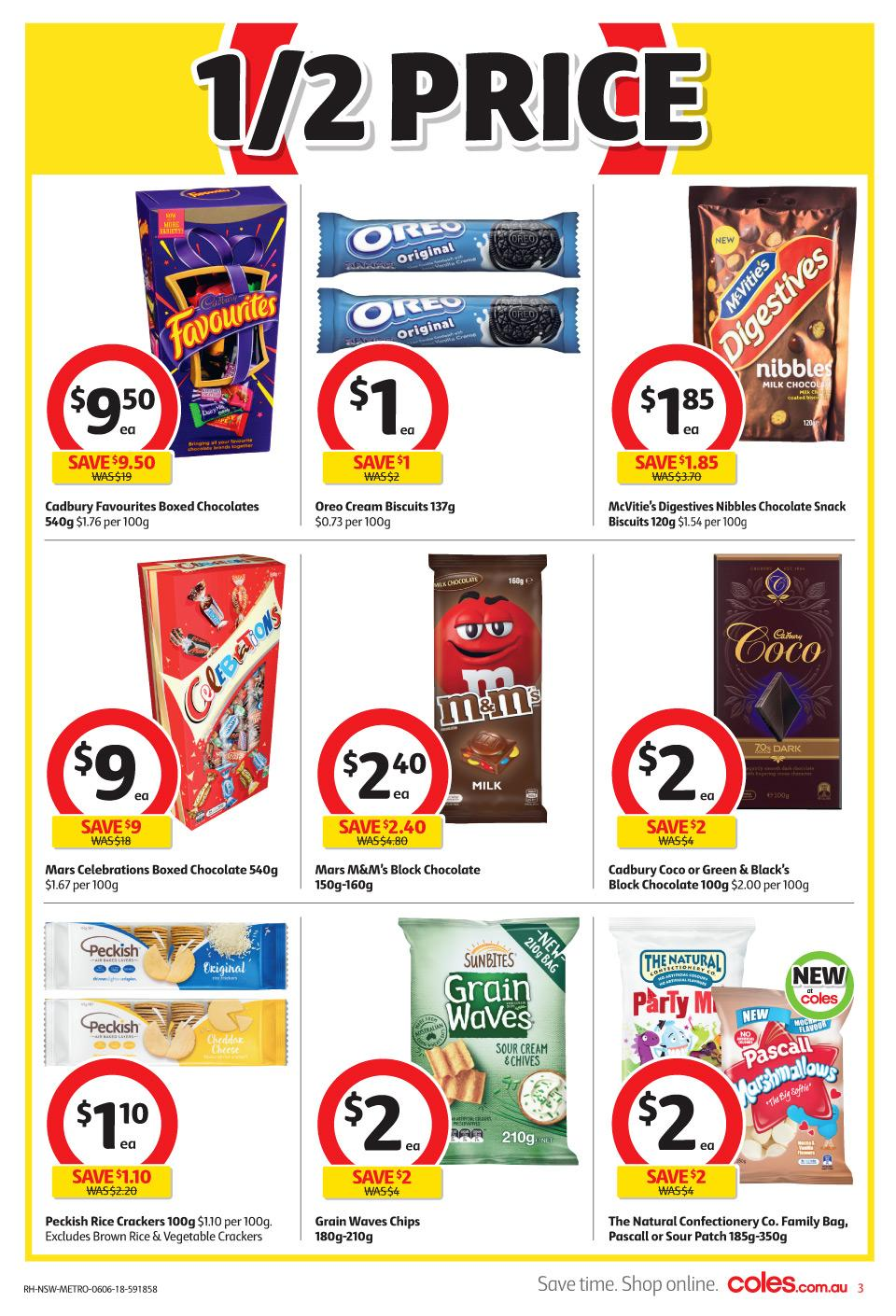 coles catalogue 6 june 2018