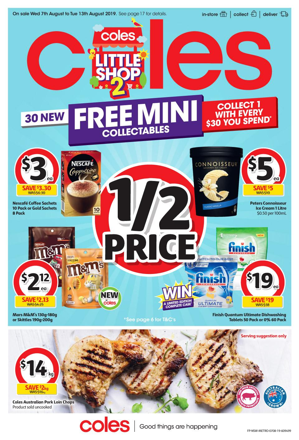 coles catalogue 7 13 aug 2019