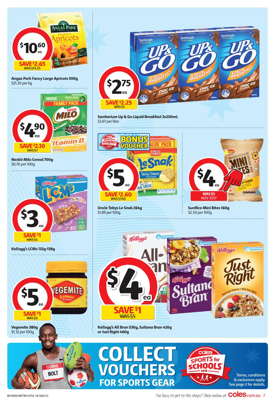 coles catalogue 7 february 2018