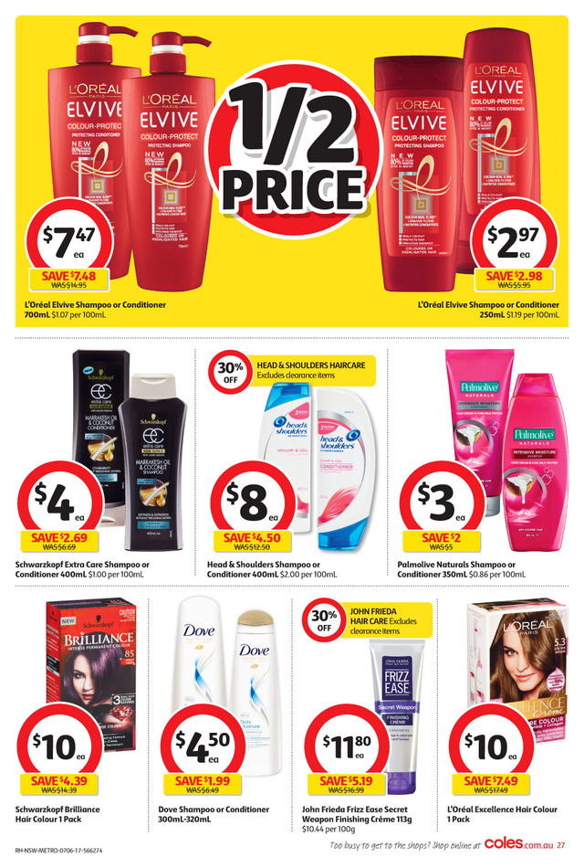 coles catalogue 7 jun 2017