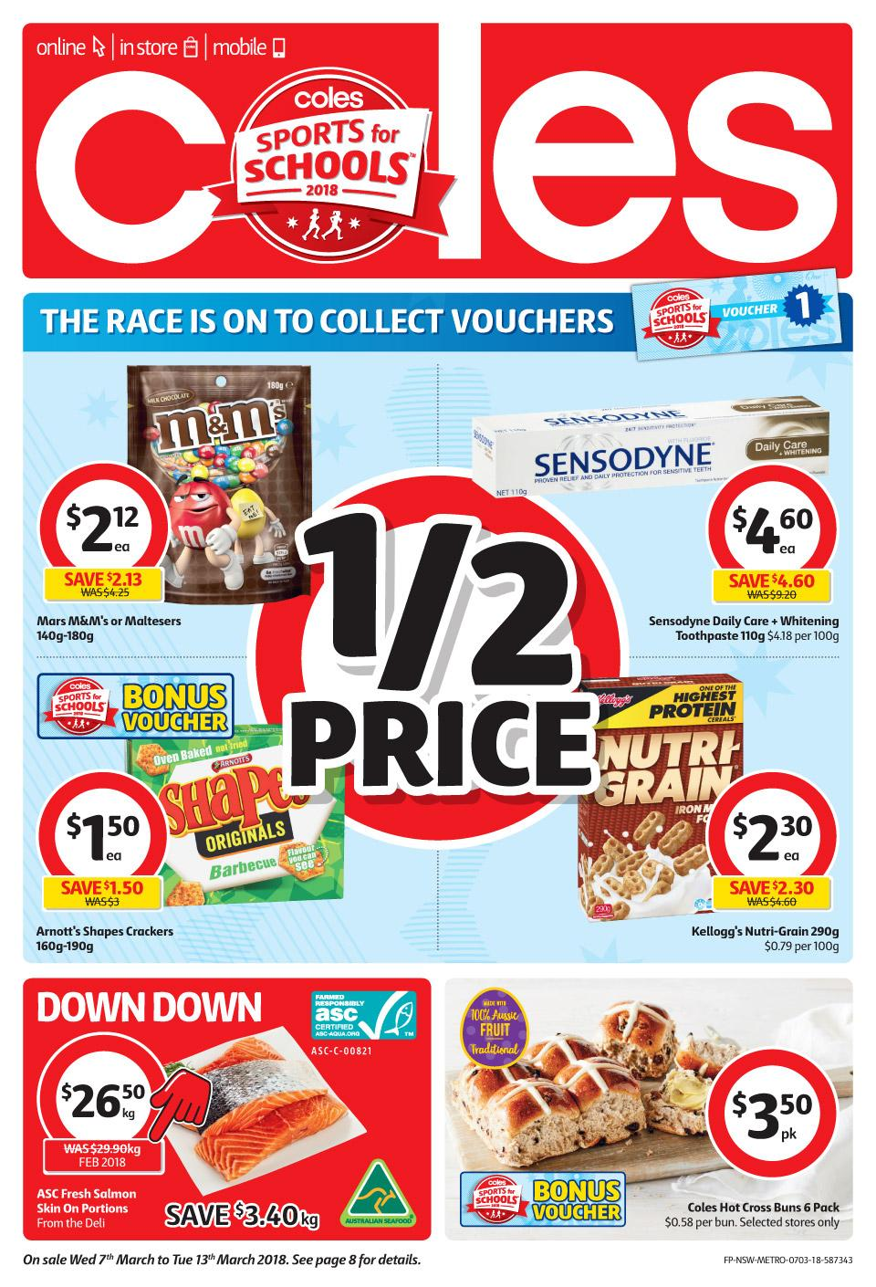 coles catalogue 7 march 2018
