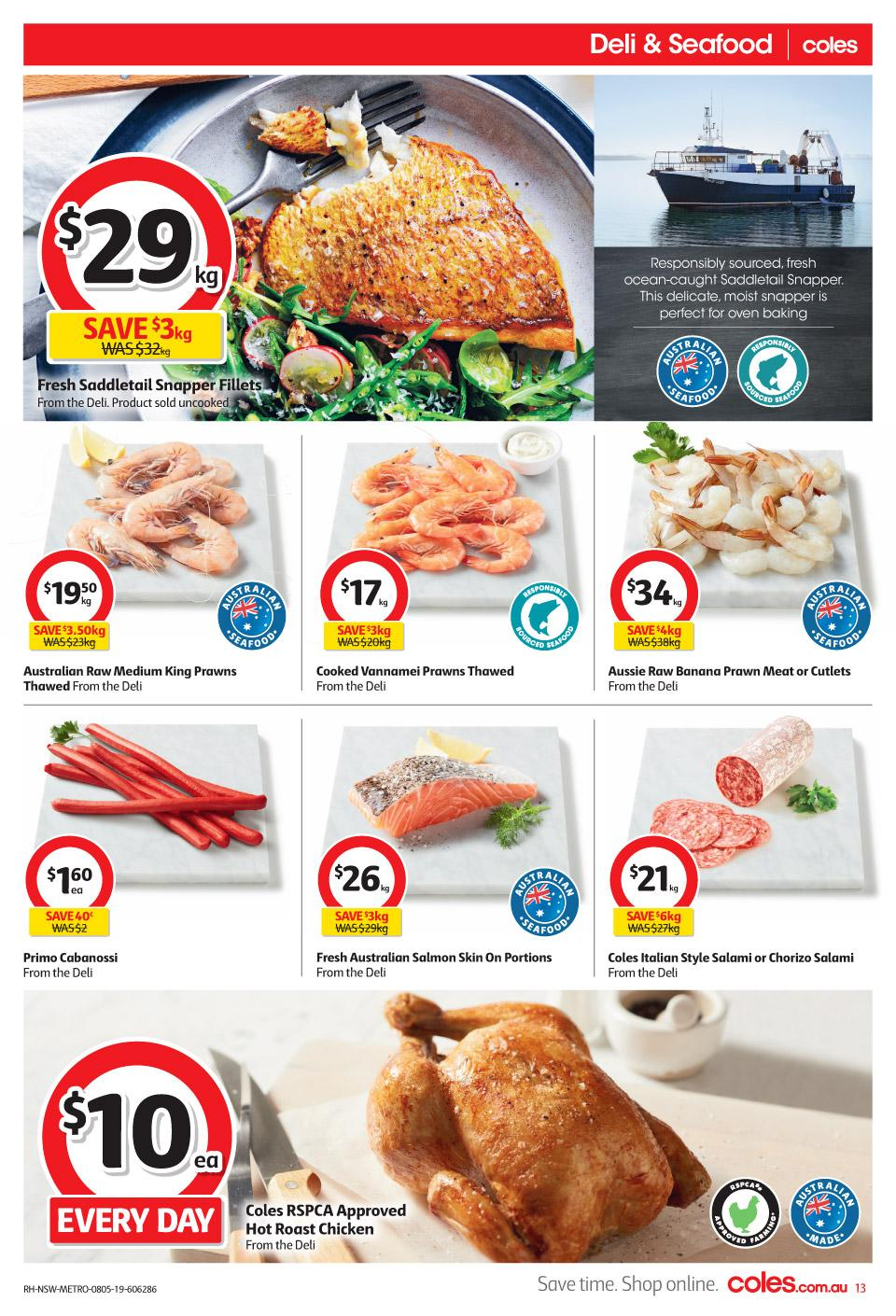 coles catalogue 8 14 may 2019