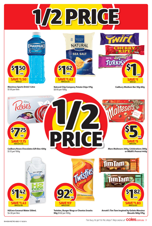 coles catalogue 8 march 2017