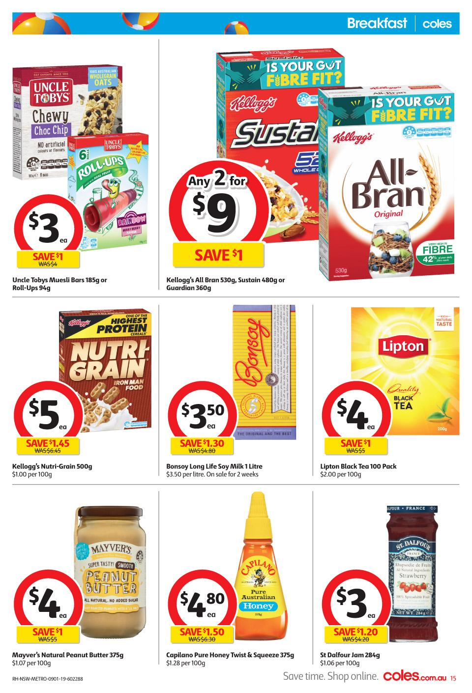 coles catalogue 9 jan 2019