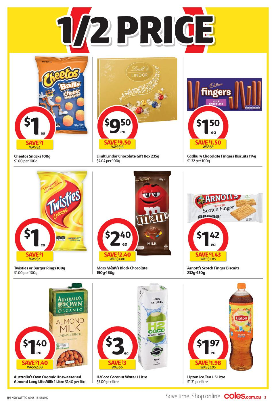 coles catalogue 9 may 2018