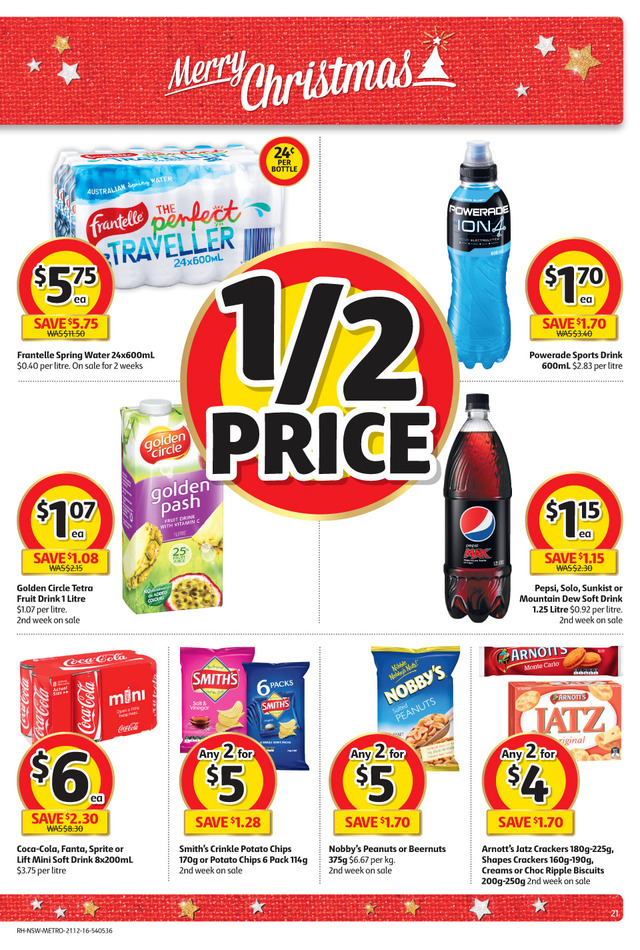 coles catalogue christmas 21 december 2016