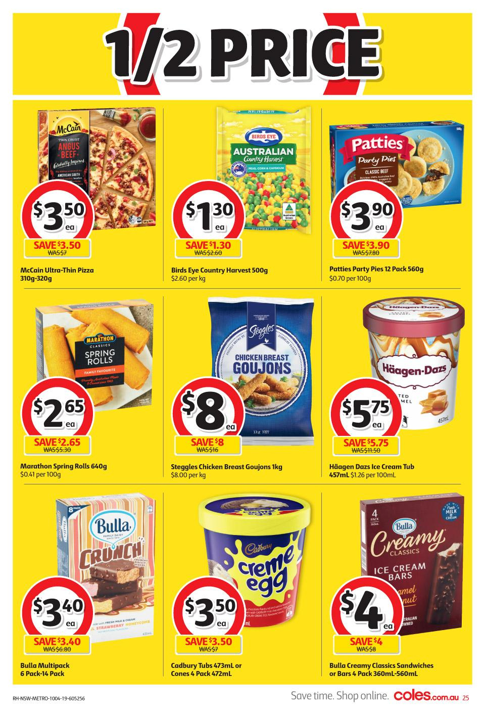 coles catalogue easter 10 16 apr 2019
