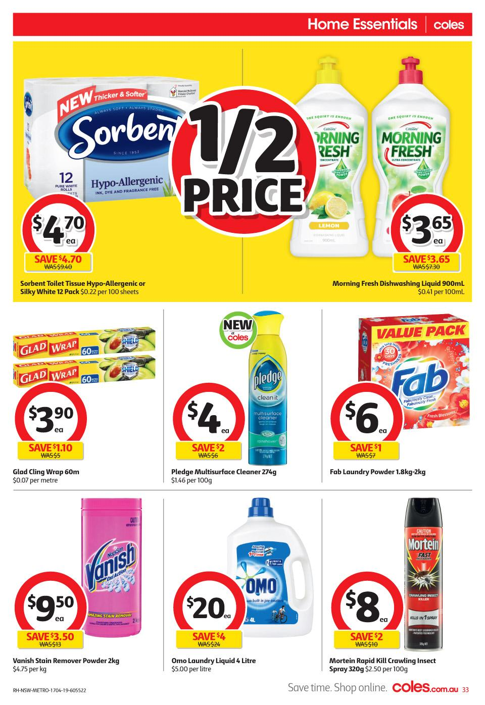 coles catalogue easter 17 23 apr 2019