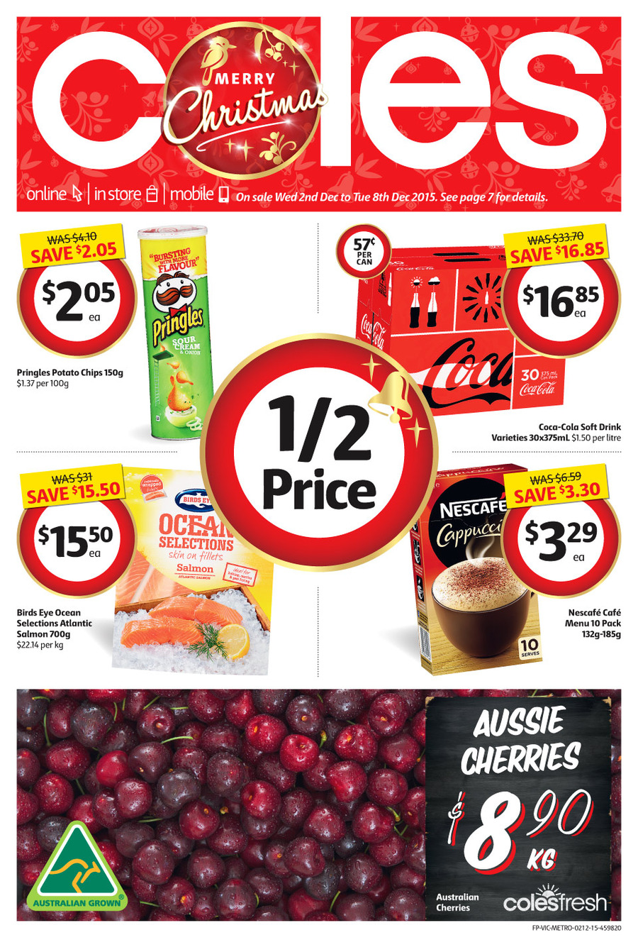 coles catalogue specials dec 2 2015