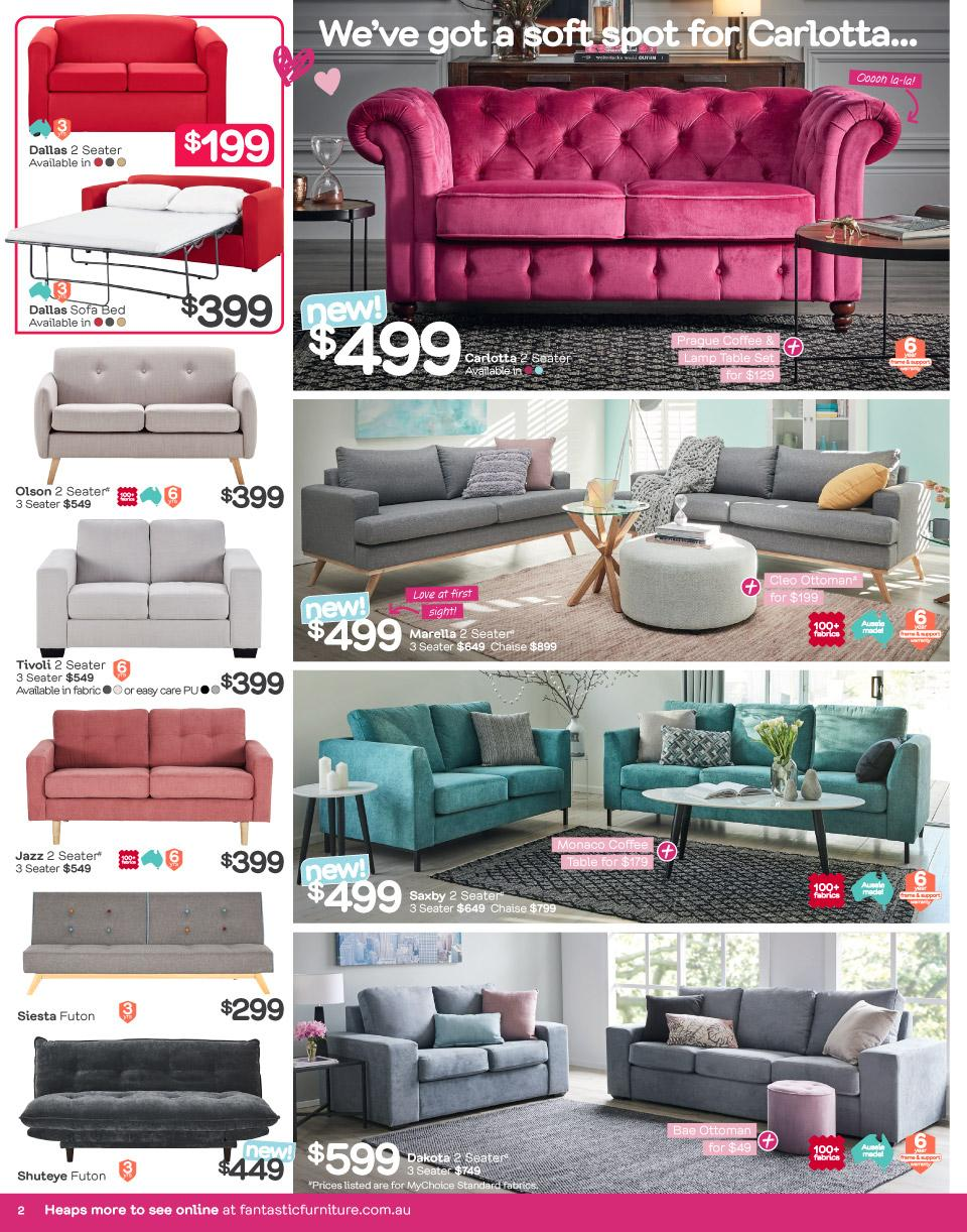 Fantastic Furniture Catalogue 29 Jan 24 Feb 2019 Page 2
