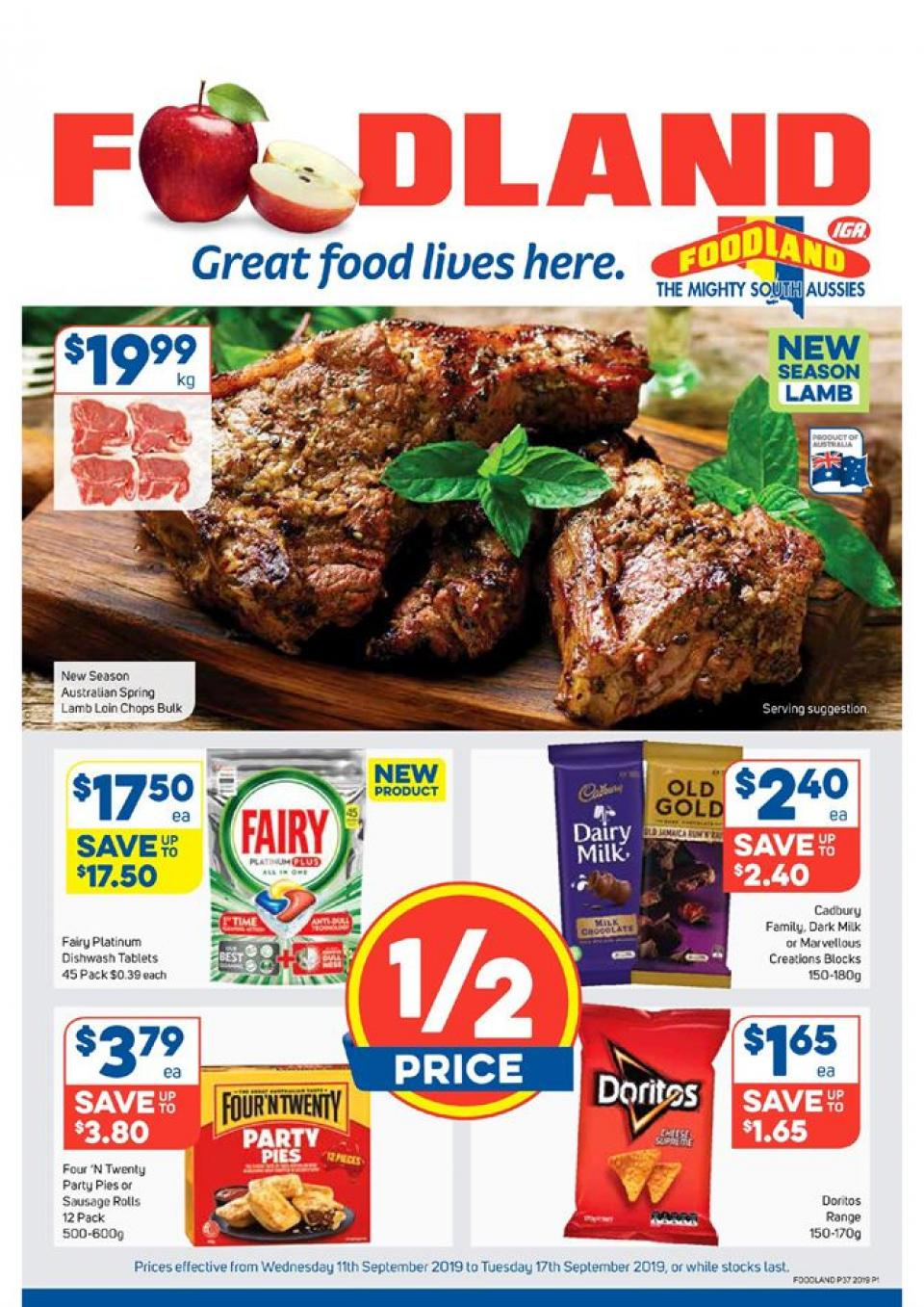 foodland catalogue 11 17 sep 2019
