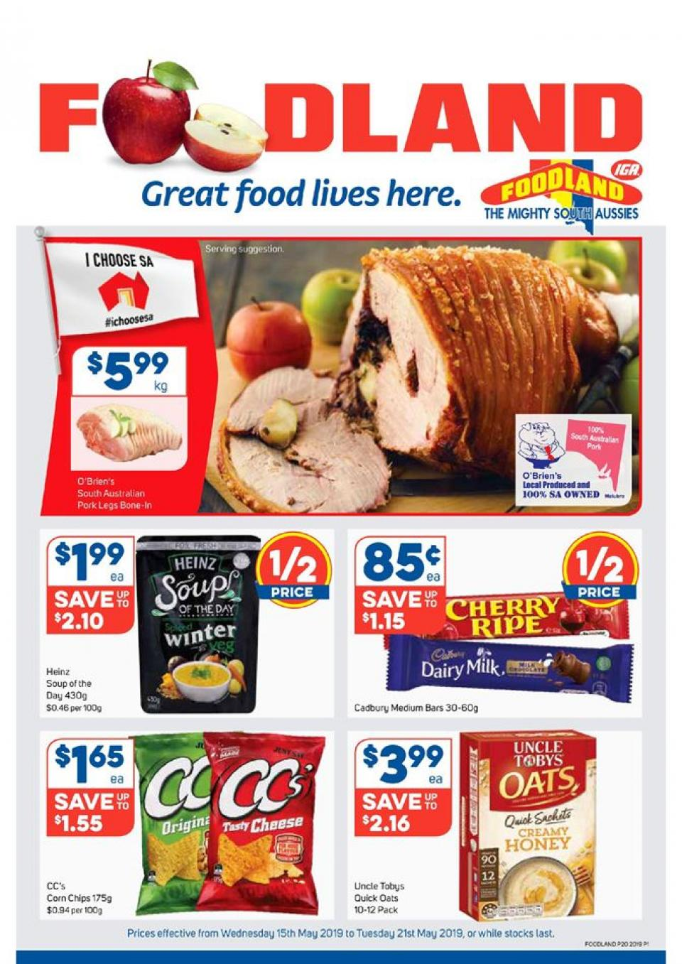 foodland catalogue 15 21 may 2019
