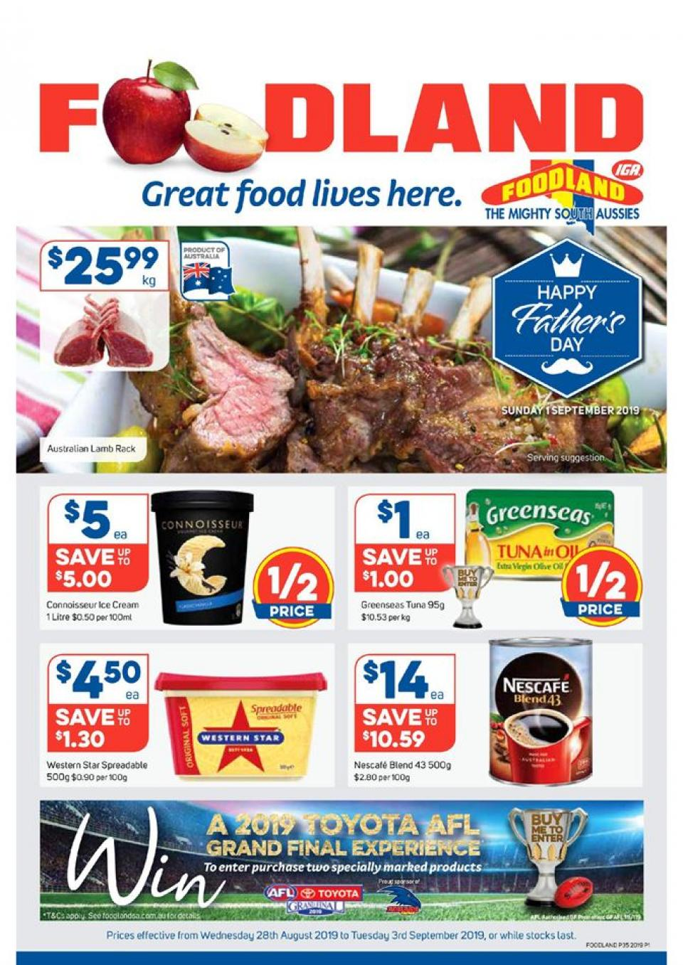foodland catalogue 28 aug 3 sep 2019