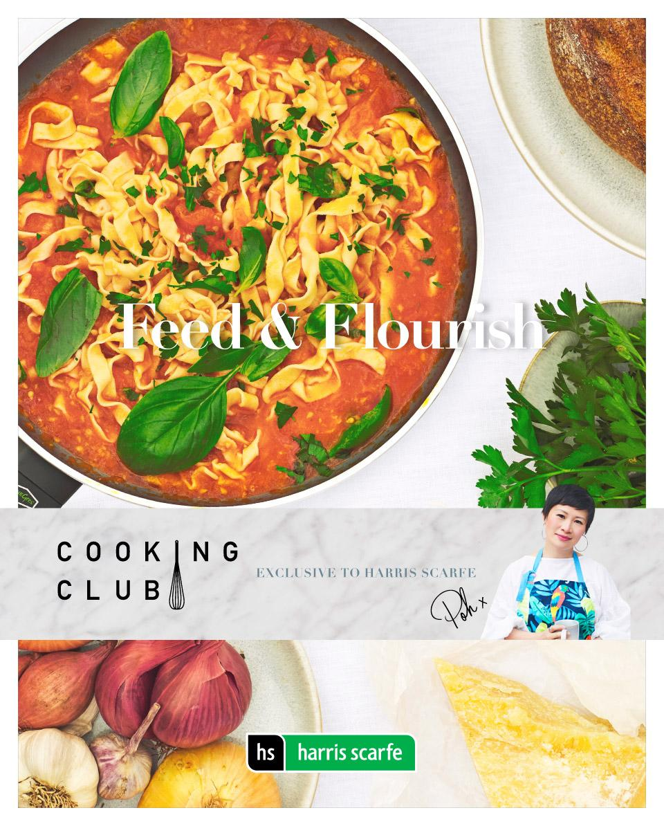 harris scarfe catalogue august cooking club 2019