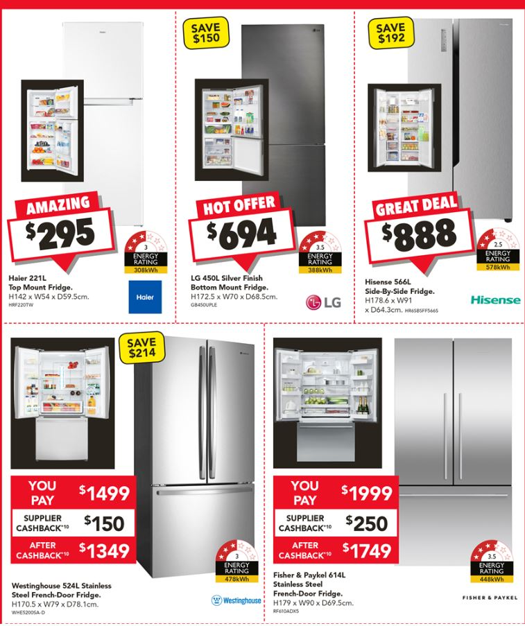 harvey norman boxing day clearance 2018