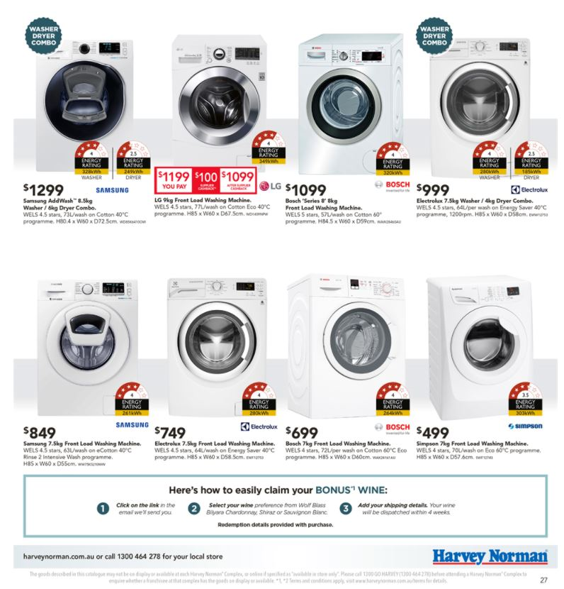 Harvey Norman Kitchen Appliances Sale