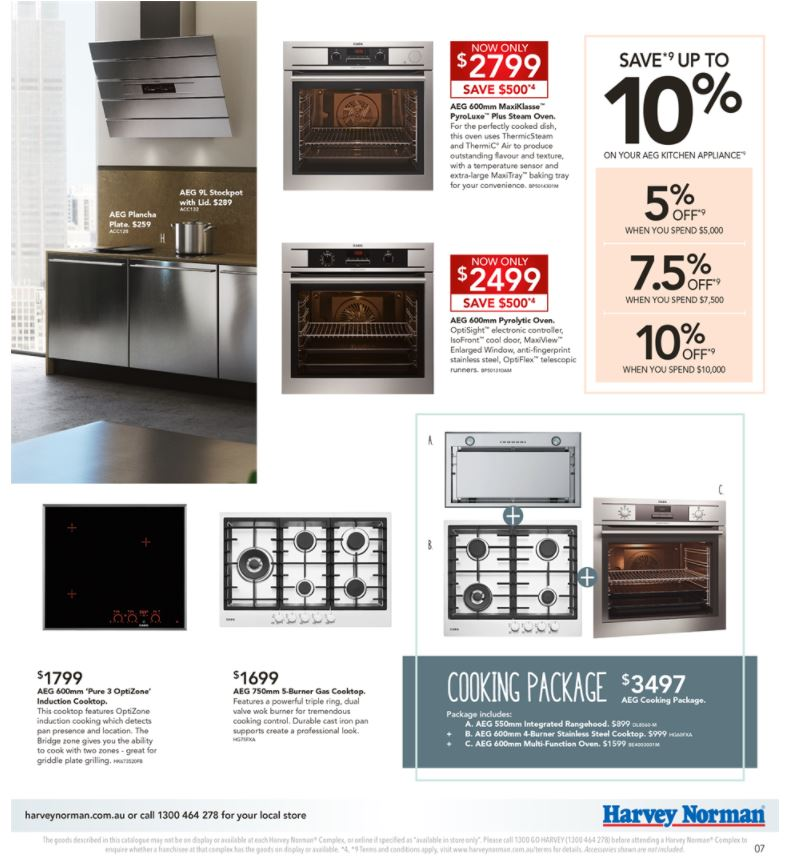harvey norman catalogue 24 april 2017