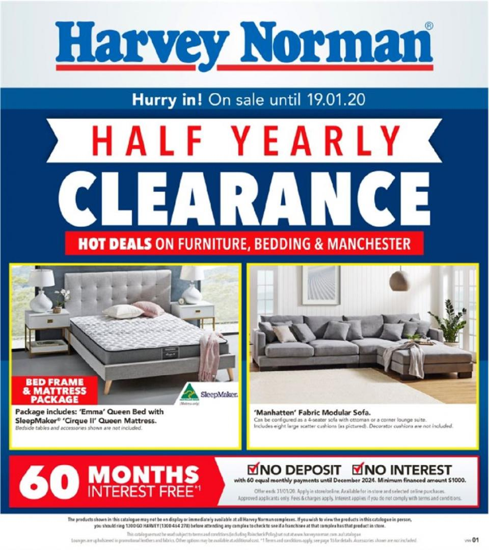 harvey norman catalogue 31 dec 20 jan