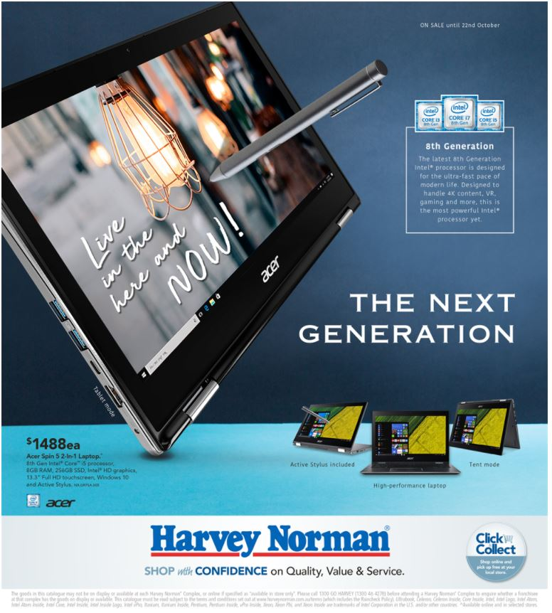 harvey norman catalogue 6 october 2017