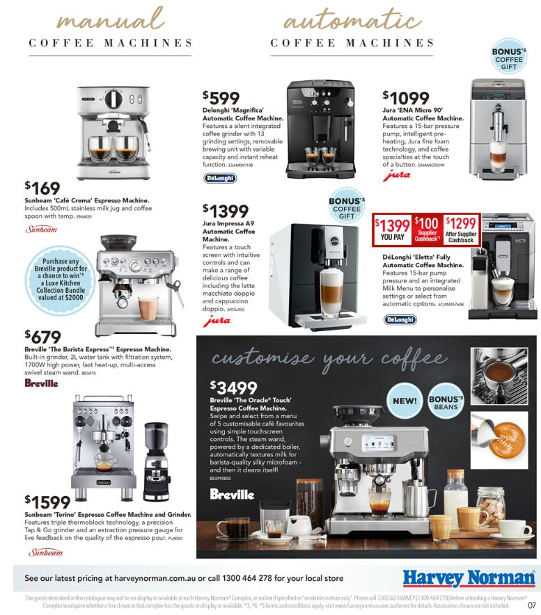 harvey norman catalogue 7 april 2017