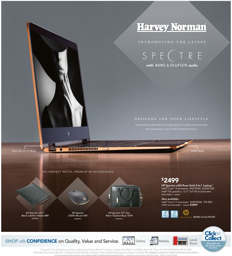 harvey norman catalogue computers march 2017