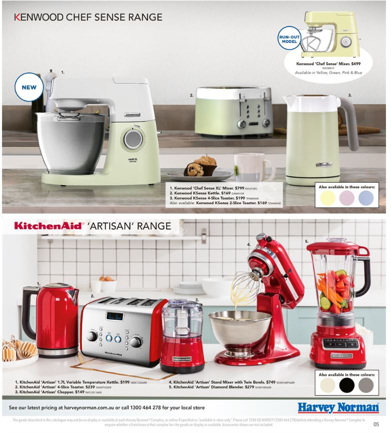 harvey norman catalogue home march 2017