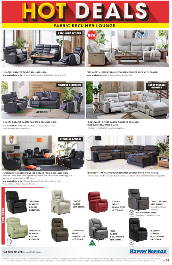 harvey norman catalogue hot deals april 2019