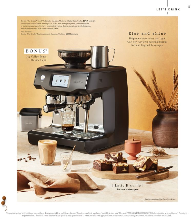 harvey norman catalogue mothers day 2019