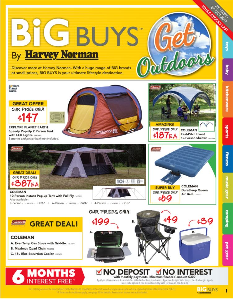 harvey norman catalogue outdoor sep 2017
