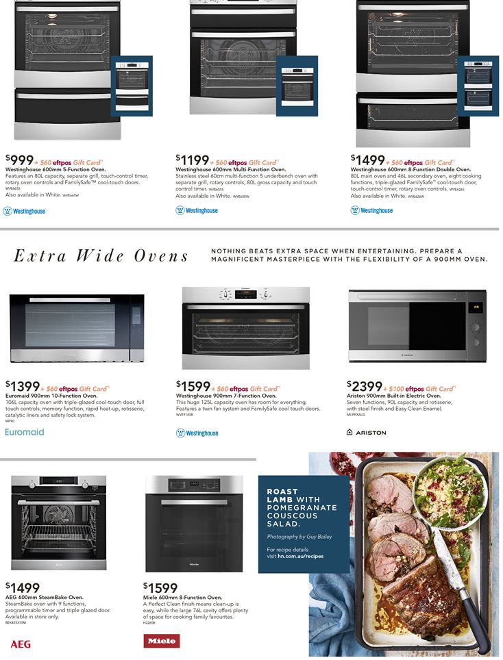 harvey norman catalogue ovens feb 2019