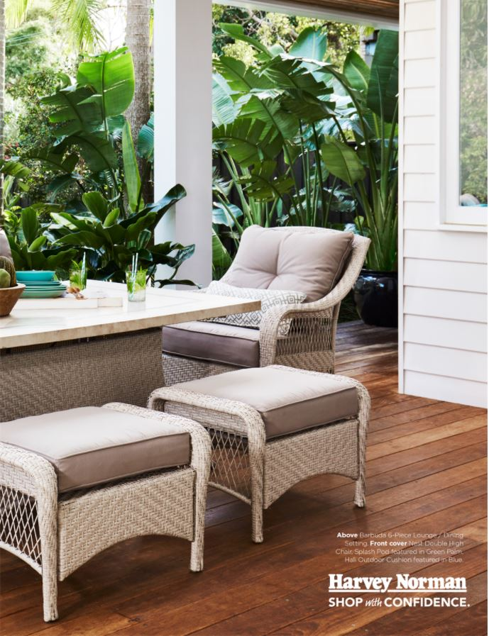 Harvey norman catalogue outdoor furniture summer 2017 page 3 for Outdoor furniture harvey norman