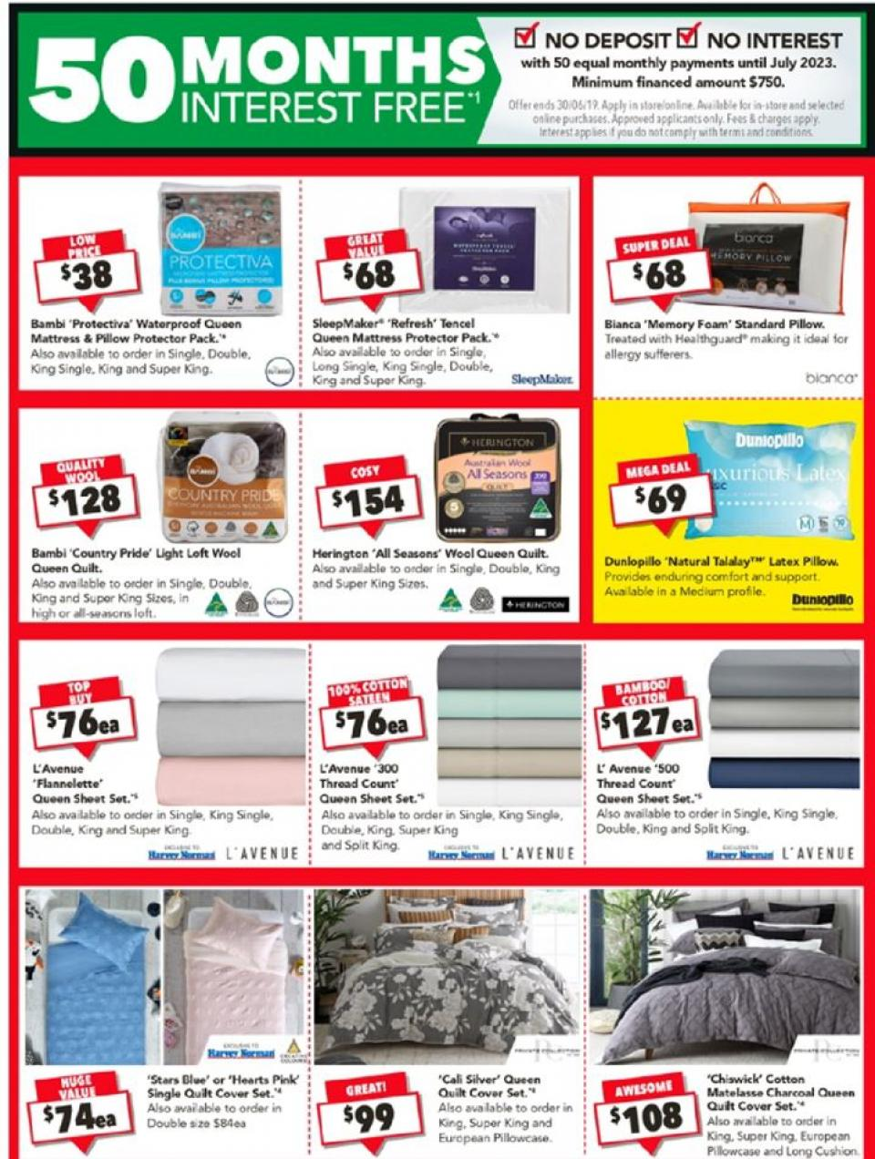 harvey norman clearance 17 30 jun 2019