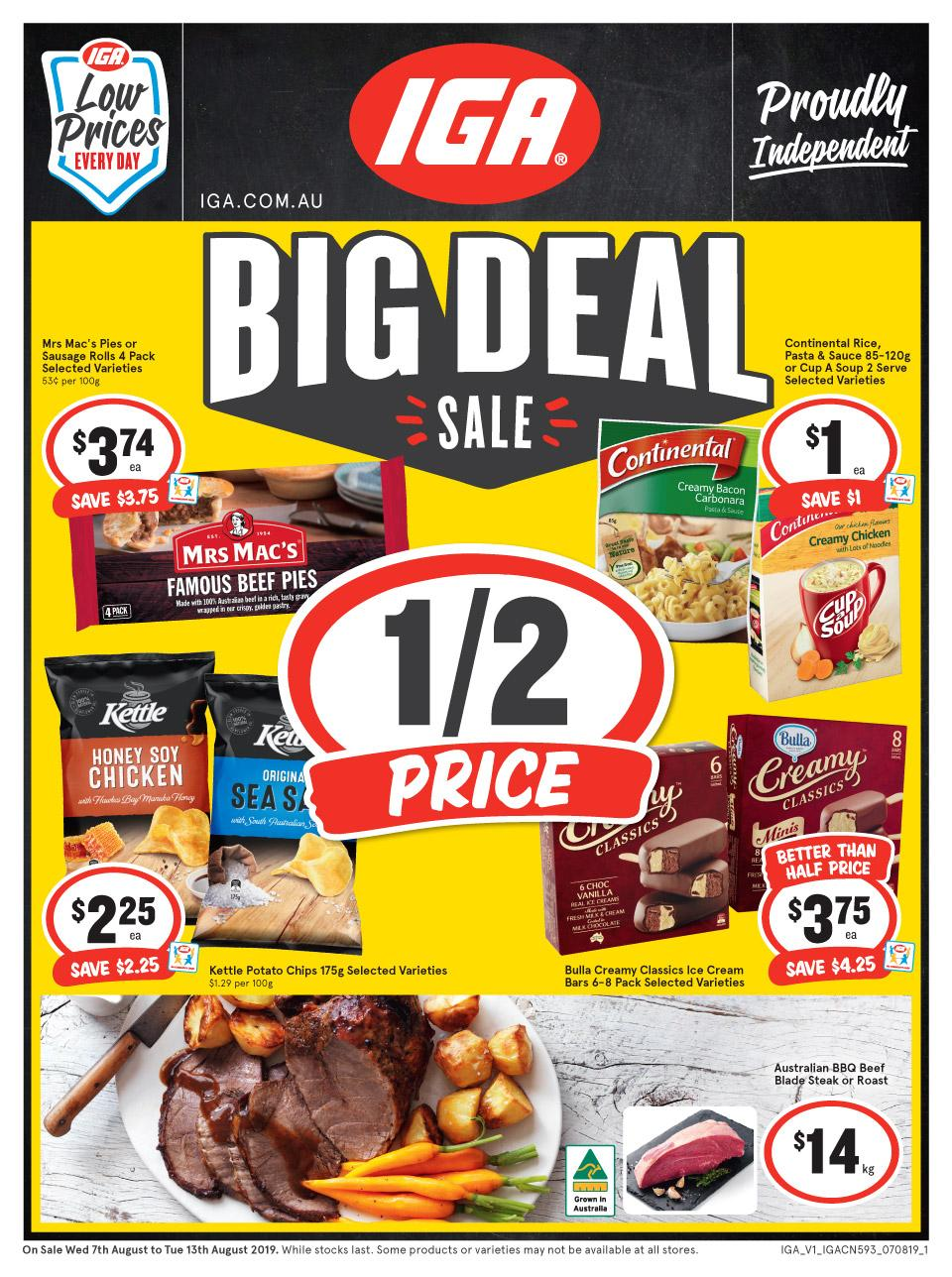 iga catalogue supa 7 13 aug 2019