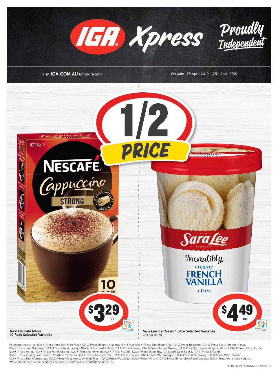 iga xpress catalogue easter 17 23 apr 2019