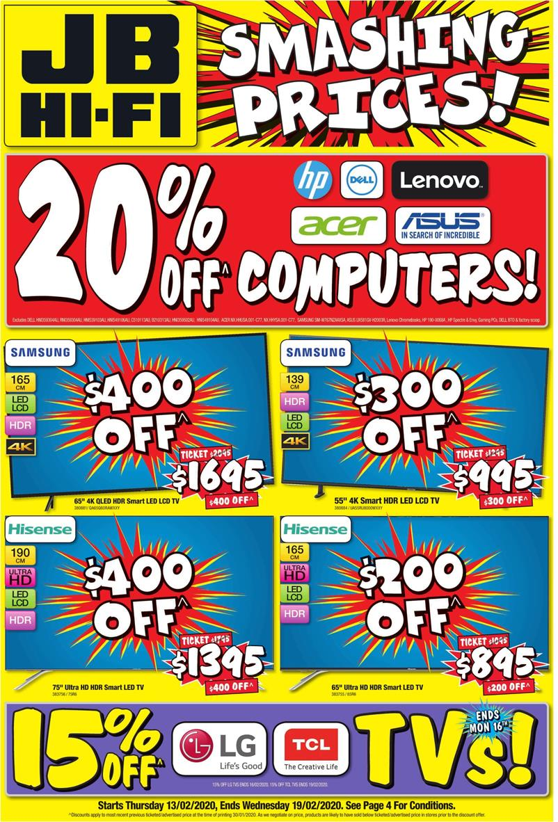 jb hi fi catalogue 13 feb 2020
