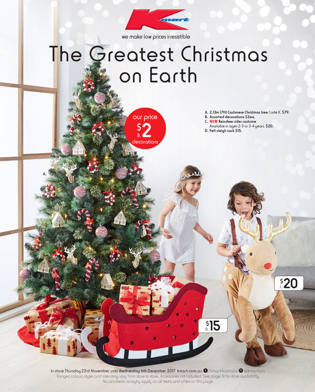 kmart catalogue christmas 23 november 6 december 2017