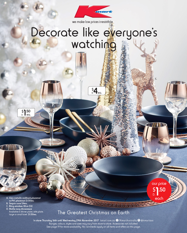 Christmas Lights At Reject Shop: Kmart Catalogue Christmas 16