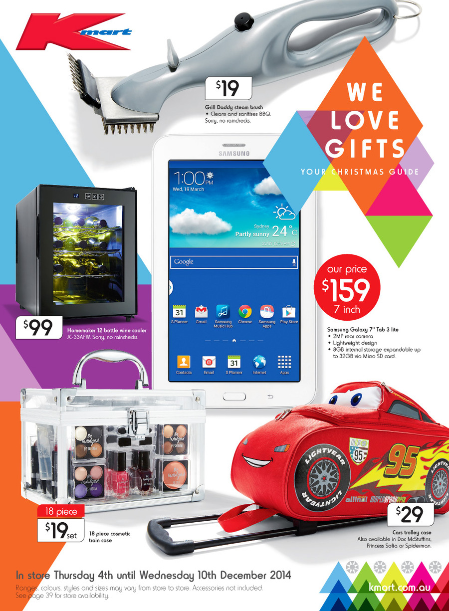Kmart Catalogue Christmas 2014 Gift Ideas