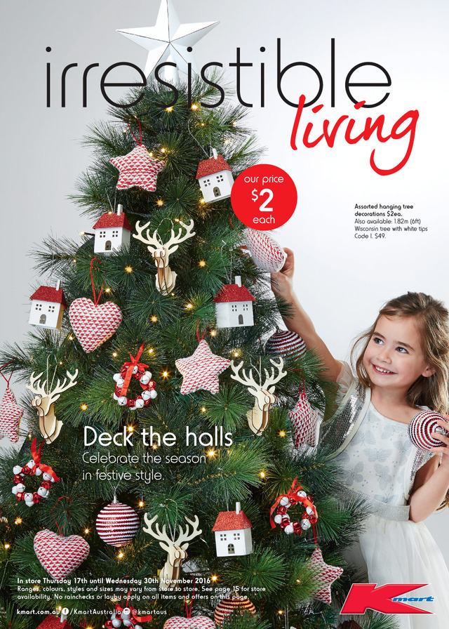 kmart catalogue christmas decoration 2016