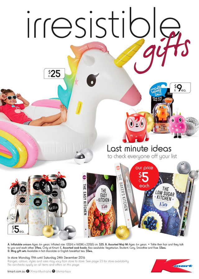 Kmart Catalogue Christmas Kids 15 - 24 December 2016