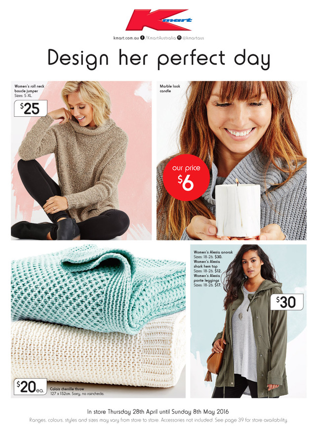 Kmart Catalogue Mothers Day 2016