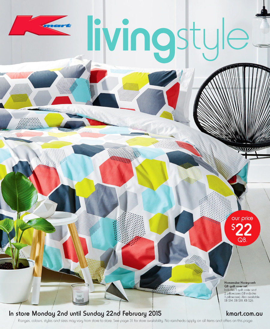 Kmart Catalogue Online Home Products February 2015