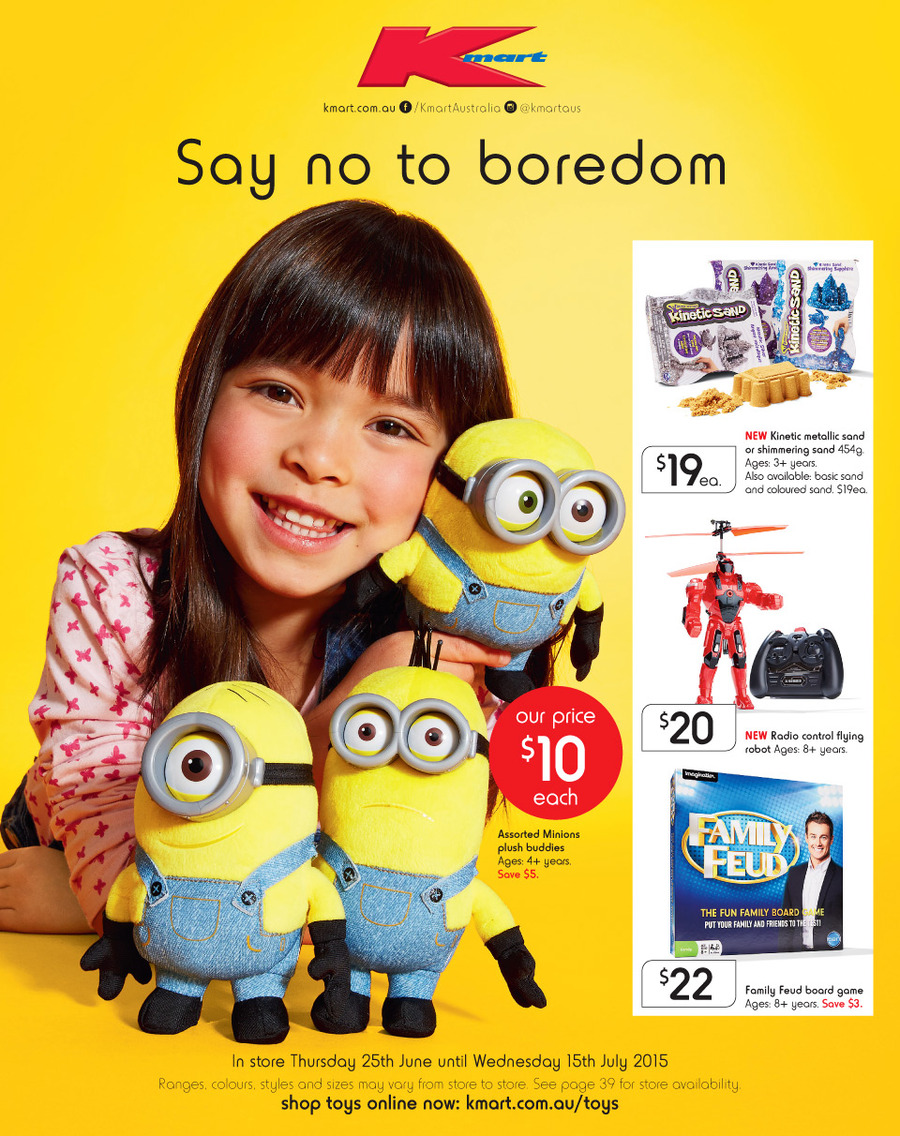kmart catalogue school holiday toys 25 june 2015