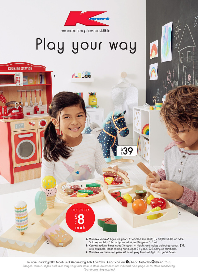 cd941987ea Kmart Catalogue Toys 30 Mar - 19 Apr 2017