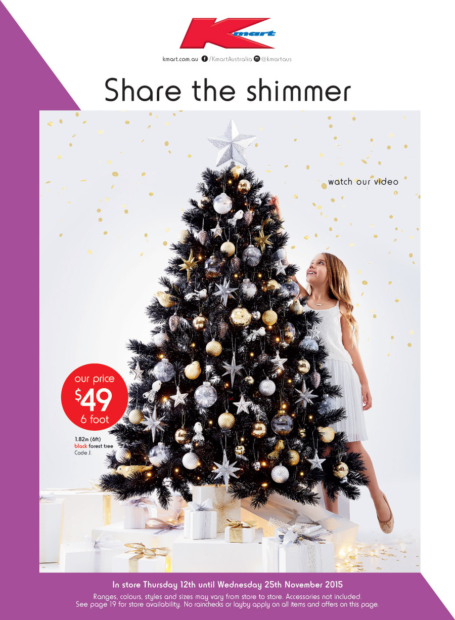kmart christmas catalogue 12 november 2015 - Christmas Decoration Catalogs