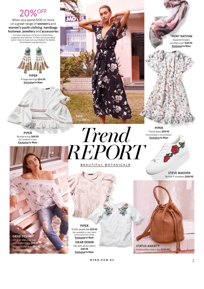 myer catalogue 14 august 2017