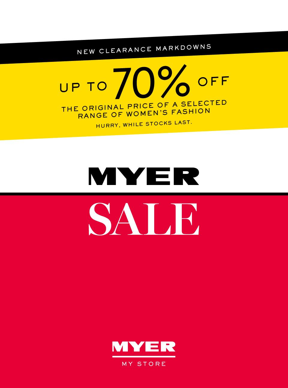 myer catalogue 15 jan 2019